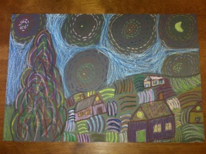 Starry Starry Night Vincent Van Gogh Art June 2009 (3)